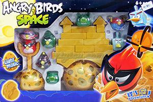 Angry Bird Space (JUN) ชุดใหญ่มาในรูปแบบของจริง สามารถจัดฉาก และยิงเล่นได้เหมือนในเกมส์