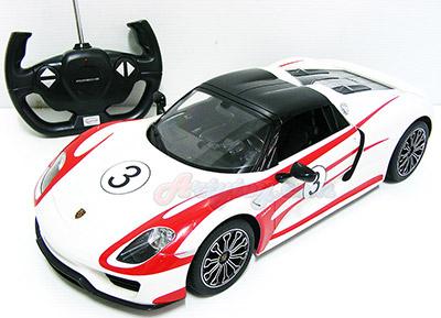 Porsche 918 Spyder Weissach Scale 1:14 (MTBN) รถแข่งลายสปอร์ตสุดหรู  สวยทั้งภายนอกและภายในรถ