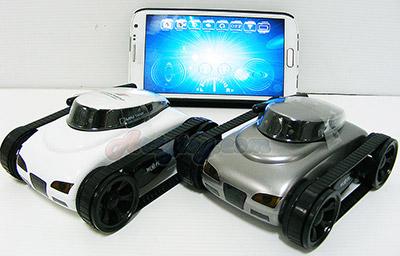 I-Spy Tank Mini(FBTN) รถถังสอดแนมสุดไฮเทคคันจิ๋ว สามารถควบคุมและเห็นภาพแบบ Real time ผ่านทางมือถือได