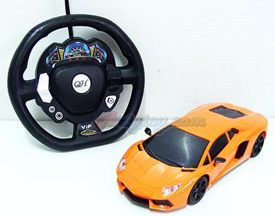 Super Car (UNB) รถบังคับแลมโบกินีคันสวย Scale 1:24 ระบบบังคับ Gravity sensor
