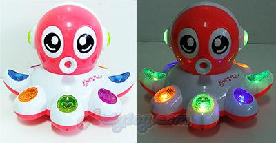 Octopus BumpGo (FUN) ใส่ถ่าน วิ่งชนถอย มีไฟ มีเสียง ขยับได้