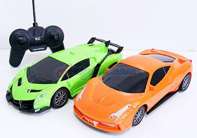 Super Car (FIT)  รถสปอร์ตบังคับทรงสวยโฉบเฉี่ยว ใส่ถ่าน มีไฟหน้าขณะเล่น