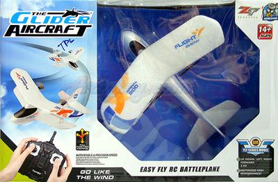 Transjoy Glider Airblane (ZENB) 2.4GHz 2CH Mini Indoor Biplane ลำเล็กบินง่าย ไม่ต้องใช้พื้นที่เยอะ