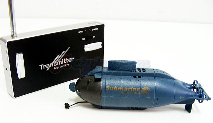 Happy Cows Mini Submarine 777-216 (ZJNB) เรือดำน้ำบังคับวิทยุลำสวย เล่นในตู้ปลา สระน้ำได้