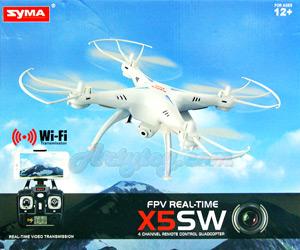 Syma X5SW FPV(MFTNB) โดรน 4 ใบพัด 2.4GHz ติดกล้องละเอียด 2MP Realtime สามารถดูภาพสดๆผ่านมือถือ