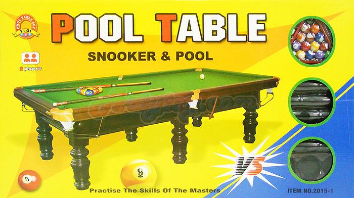 โต๊ะสนุ๊กเกอร์ขนาดใหญ่(U์NB) ขนาดใหญ่เล่นได้เหมือนจริง