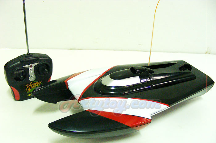 เรือบังคับ 2 แฉก รุ่น Speed King (ZILN) รูปโฉมใหม่  แรงเร็วเต็มพิกัดขับเคลื่อนด้วยมอเตอร์ 2 ใบพัด