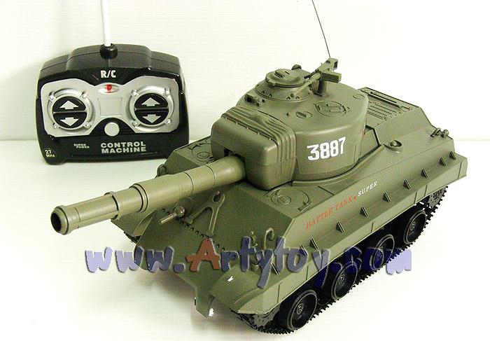 Tank Battle (JIN)  รถถังบังคับวิทยุขนาดเล็ก คุณภาพเกินราคา แบตเตอรี่ชาร์ตไฟบบ้าน  สามารถยิงกระสุนได้