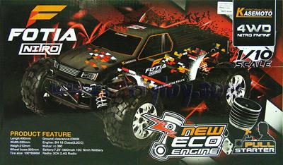 Kasemoto FOTIA NITRO 1:10 (METNB) บิ๊กฟุตน้ำมันขับเคลื่อน 4WD คันใหญ่สุดๆ ลุยได้สุดมันสะใจ