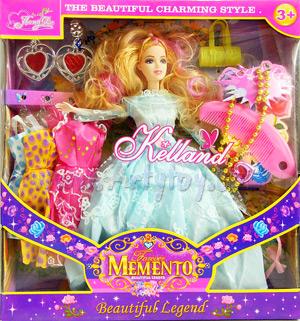 Momento(FNB) ตุ๊กตาบาร์บี้พร้อมชุดให้เปลี่ยน และ Accesseries
