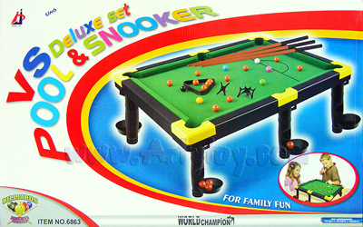 VS Deluxe Set (๋UNB) Pool  Snooker เล่นได้  2 แบบ สนุกได้ทั้งครอบครัว