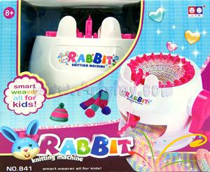 Rabbit Knitting Machine (MUJN)  เครื่องถักไหมพรมสำหรับคุณหนูๆ