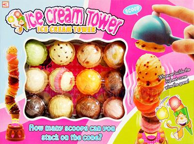 Icecream Tower (ZPN) เกมสร้างหอคอยไอศกรีม สนุกเพลิดเพลิน ฝึกสมาธิ