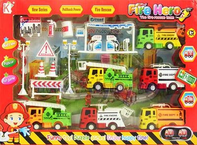 ของเล่นพลาสติกชุดดับเพลิง Fire Hero (ZAN)