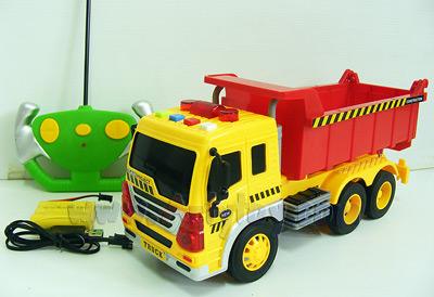 Construct World 26A (ULN) รถดัมพ์บังคับวิทยุไร้สายชาร์ต มีไฟ มีเสียง ยกกะบะท้ายเทได้เหมือนจริง
