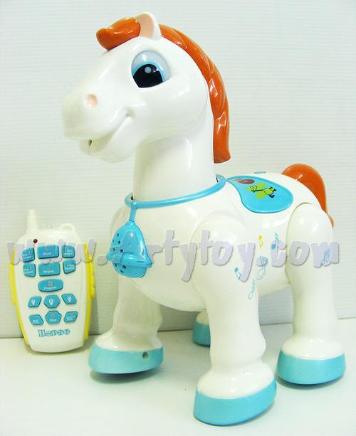 Xin Xin Smart Robot Pony ม้าสุดไฮเทค  บังคับอินฟราเรด เดินได้ มีไฟมีเสียงพูด น่าเล่น