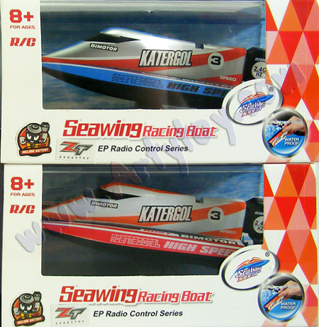 Seawing Racing Boat 2 (ZJNB) เรือ Mini Speed Boat 2 ใบพัดลำจิ๋ว 2.4GHz เล่นได้ทุกที่