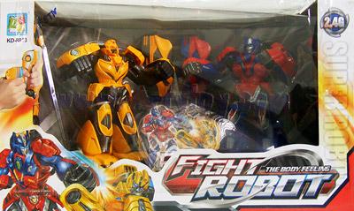 Fighting Battle Robot (FBTN) หุ่นยนต์ชกมวยไร้สายแห่งอนาคต แพ็คคู่ 2 ตัว ระบบ 2.4GHz ที่น่าเล่นที่สุด