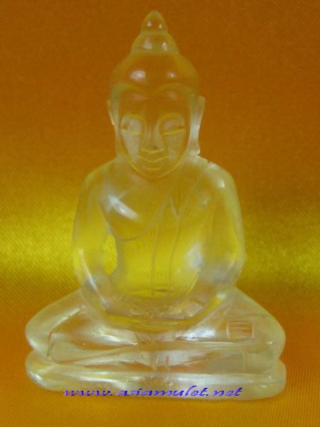พระสิงห์ จุยเจีย 天然水晶佛像