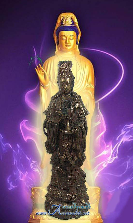 เจ้าแม่กวนอิม, กวนอิม, พระโพธิสัตว์กวนอิม, พระบูชาเจ้าแม่กวนอิม, เจ้าแม่กวนอิมเนื้อทองแดง