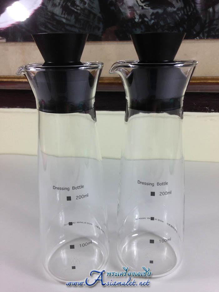 ขวดแก้ว Dressing Bottle ขนาดเส้นผ่าศูนย์กลาง 2.5 นิ้ว x สูง 7 นิ้ว