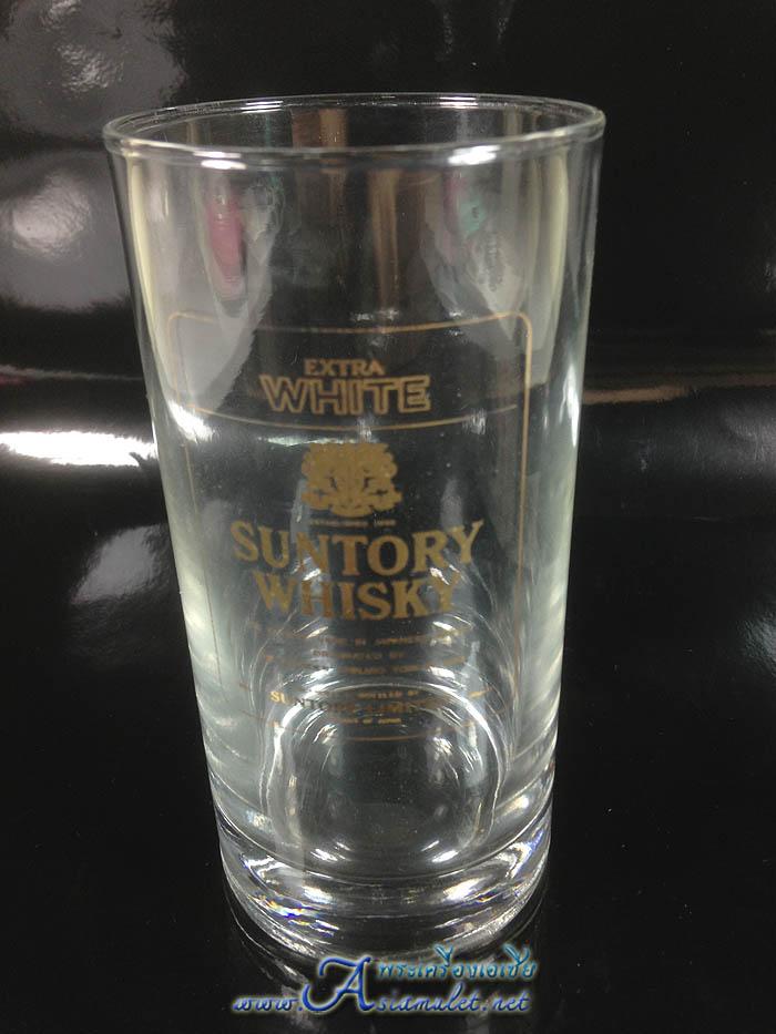 แก้วWHISKY, EXTRA WHITE SUNTORY WHISKY