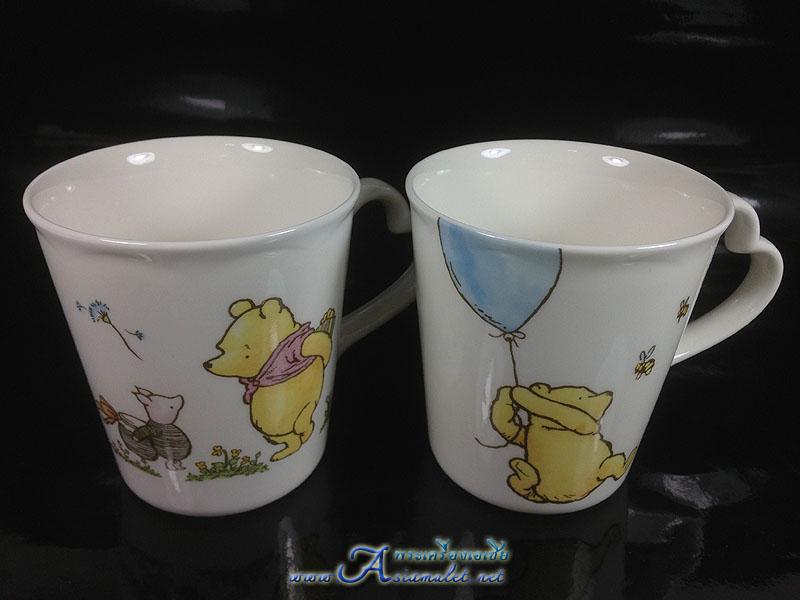 แก้วเซรามิคหมีพูลท์ CLASSIC POOH, COLLECTION@DISNEY NIKKO SINCE 1908 MADE IN JAPAN