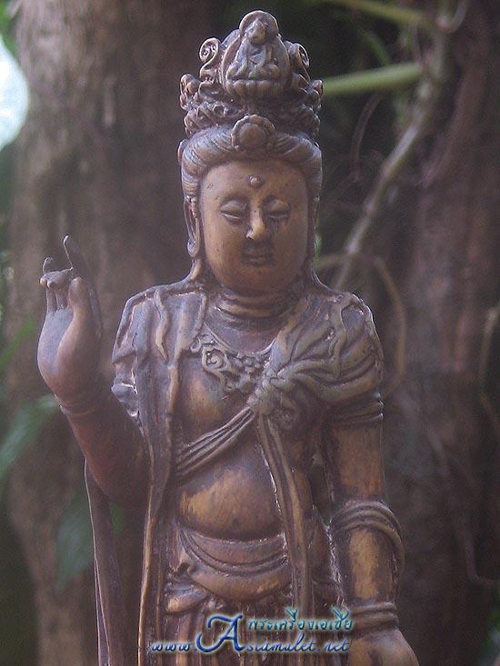 เจ้าแม่กวนอิม, กวนอิม, พระโพธิสัตว์กวนอิม, พระบูชาเจ้าแม่กวนอิม มูลนิธิเทียนฟ้า