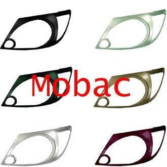 TOYOTA VIGO 2004-2011  ครอบไฟหน้า สีตามตัวรถ