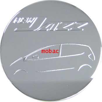 HONDA JAZZ 2008  ครอบฝาถังน้ำมัน สีชุบโครเมี่ยม ยี่ห้อ Lekone