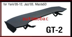 HONDA JAZZ 2003, 2008-2012 สปอยเลอร์ SPOILER ติดรถ GT-2