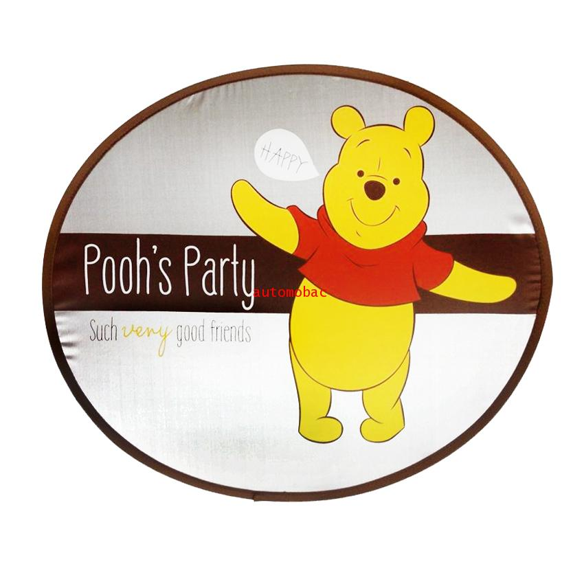 Pooh DS 02 ม่านบังแดด ด้านข้าง แพ็คเดี่ยว ใช้บังแดดเพื่อปกป้อง UV และความร้อน ขณะที่รถยนต์จอดตากแดด