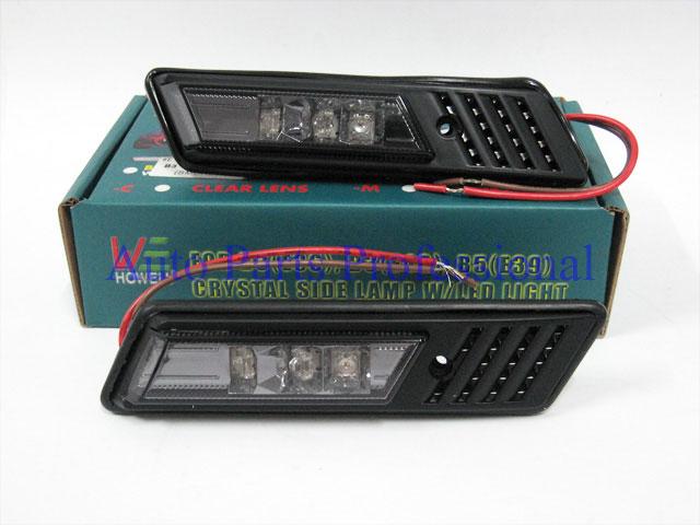 Auto Pro. ไฟหรี่กรอบรมดำ LED รถ BMW E32 E34 E36 316i 318i 325i 520i 525i 730i 740i
