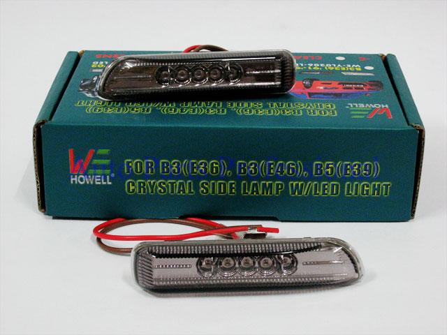 Auto Pro. ไฟหรี่กรอบรมดำ LED รถ BMW E46 318i 323i 330i ปี 1998 8211; 2003 รุ่น 2 ประตูและ 4 ประตู