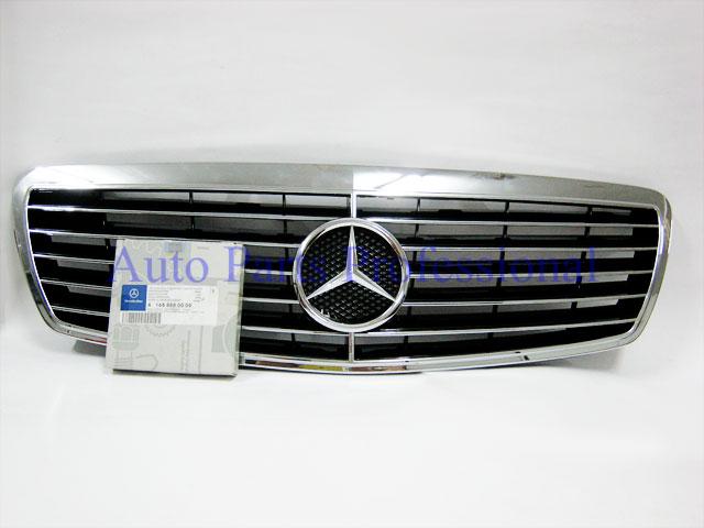 Auto Pro. กระจังหน้าสปอร์ตสีดำพร้อมกรอบโครเมี่ยมรถเบนซ์ W211 รุ่น 4 ประตู E200 E220 E320 E350 E500 E 1