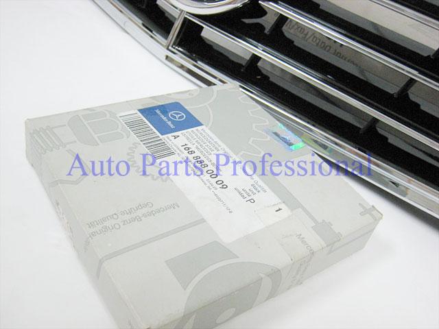 Auto Pro. กระจังหน้าสปอร์ตสีดำพร้อมกรอบโครเมี่ยมรถเบนซ์ W211 รุ่น 4 ประตู E200 E220 E320 E350 E500 E 7
