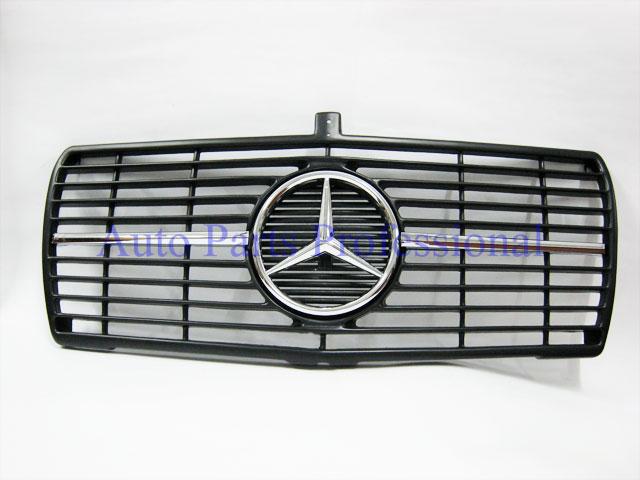 Auto Pro. กระจังหน้าสปอร์ตสีดำรถเบนซ์ W126 รุ่น 4 ประตู 260SE 280SE 280SEL 300SD 300SDL 300SE 300SEL 1