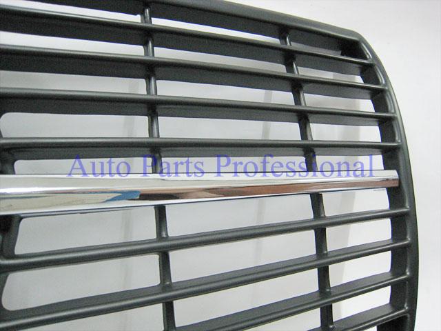 Auto Pro. กระจังหน้าสปอร์ตสีดำรถเบนซ์ W126 รุ่น 4 ประตู 260SE 280SE 280SEL 300SD 300SDL 300SE 300SEL 2