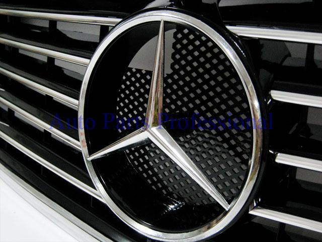 Auto Pro. กระจังหน้าสปอร์ตสีดำพร้อมกรอบโครเมี่ยมรถเบนซ์ W202 รุ่น 4 ประตู C220 C230 C280 C36 AMG 1