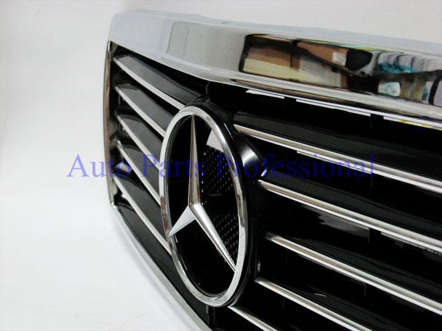 Auto Pro. กระจังหน้าสปอร์ตสีดำพร้อมกรอบโครเมี่ยมรถเบนซ์ W202 รุ่น 4 ประตู C220 C230 C280 C36 AMG 2