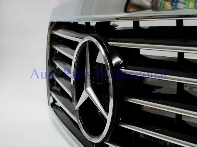 Auto Pro. กระจังหน้าสปอร์ตสีดำพร้อมกรอบโครเมี่ยมรถเบนซ์ W202 รุ่น 4 ประตู C220 C230 C280 C36 AMG 3