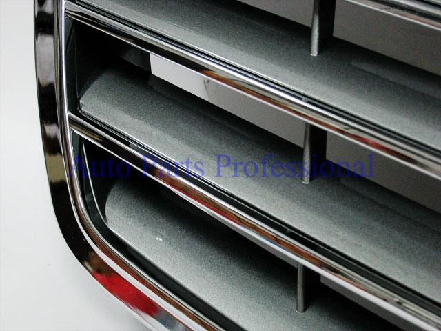 Auto Pro. กระจังหน้าสีเงินพร้อมกรอบโครเมี่ยมรถเบนซ์ AMG W211 รุ่น 4 ประตู E200 E220 E320 E350 E500 2