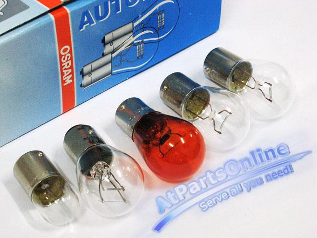 Auto Pro. ชุดหลอดไฟท้าย สำหรับไฟท้ายสีขาว-แดง (ไฟเลี้ยวสีขาว) รถเบนซ์ Mercedes-Benz W202 W210 C220