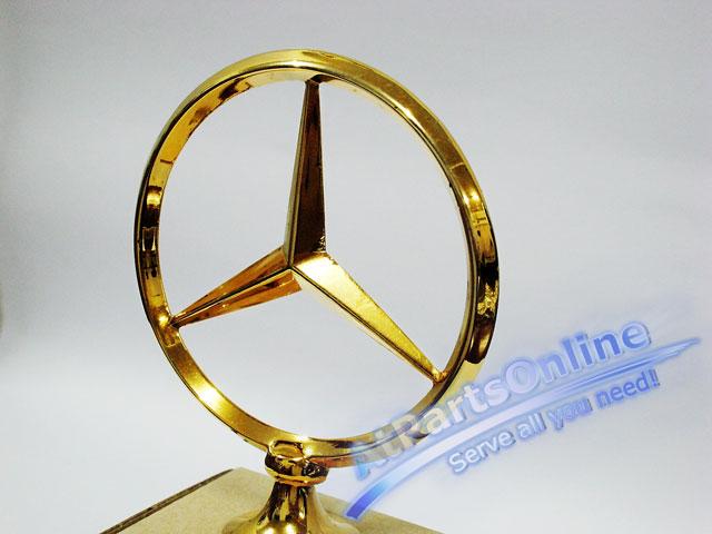Auto Pro. ดาวฝากระโปรงหน้า โลโก้สัญลักษณ์ชุดทองรถเบนซ์ Mercedes-Benz W114/8 W115 200 220 200D 230.4 1