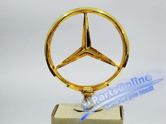 Auto Pro. ดาวฝากระโปรงหน้า โลโก้สัญลักษณ์ชุดทองรถเบนซ์ Mercedes-Benz W114/8 W115 200 220 200D 230.4 2