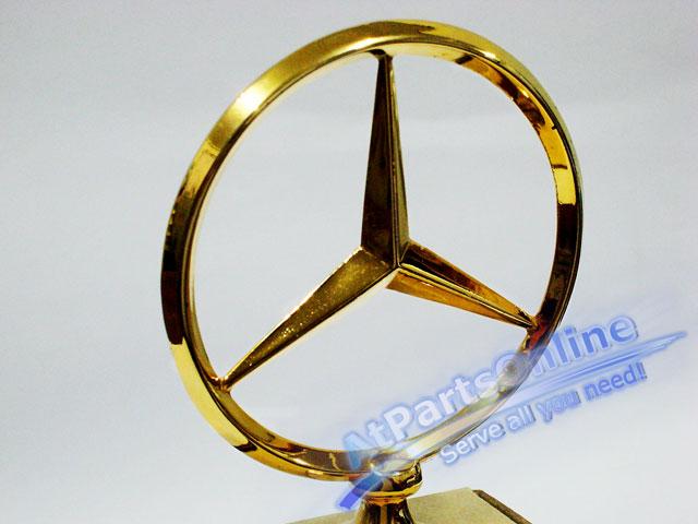 Auto Pro. ดาวฝากระโปรงหน้า โลโก้สัญลักษณ์ชุดทองรถเบนซ์ Mercedes-Benz W114/8 W115 200 220 200D 230.4 3
