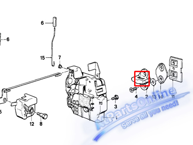 Auto Pro. พลาสติกกลอนติดเสาประตู สำหรับรถบีเอ็มดับบลิวคลาสสิค BMW E30 โมเดล 316 316i 318i 320i 320is 3