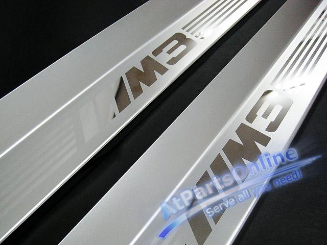 Auto Pro. กาบบันไดโครเมี่ยม M3 รถ BMW 46 รุ่น Sport Coupe, Convertible 316ci 318ci 320cd 320ci 323ci