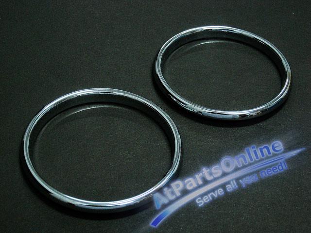Auto Pro. วงแหวนสเตนเลส ปุ่มสวิตซ์แอร์รถเบนซ์ Mercedes-Benz W124 200E 230E 230CE 300E E220 E280 E500