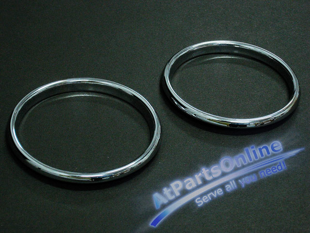 Auto Pro. วงแหวนสเตนเลส ปุ่มสวิตซ์แอร์รถเบนซ์ Mercedes-Benz W202 C180 C200 C220 C240 C280 C43 AMG C-